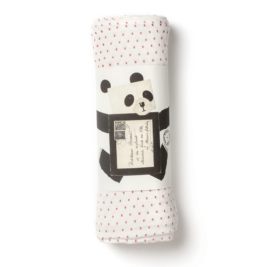 From babie with love little kisses muslin swaddle