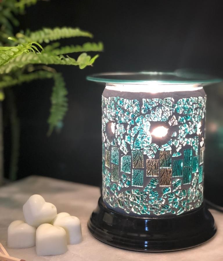 mosaic electric wax melt burner